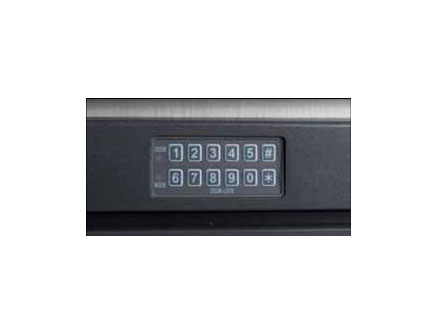 Electronic keypad provides security and compliance