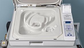 Liquid chemical sterilization of duodenoscopes