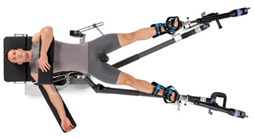 Benefit from clear C-arm positioning access
