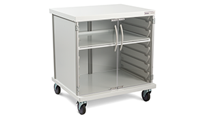 Mobile Cart for AMSCO Single Compartment Warming Cabinet
