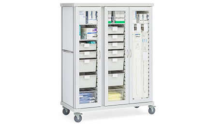 ROAM Cue Catheter and General Storage Cart